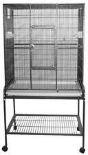 32x21 Flight Bird Cage With Stand Black