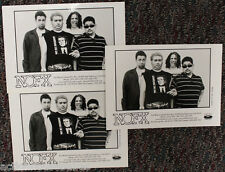 """Lot of 3 - NOFX : PROMO Photo 5"""" x 7"""" Picture - FAT WRECK CHORDS - Promotional"""