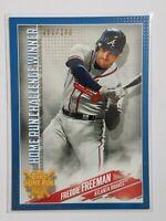 2019 Topps Home Run Challenge Winner August Freddie Freeman Atlanta Braves