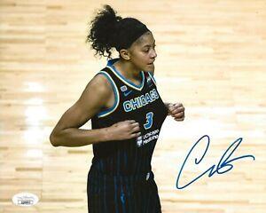 Candace Parker signed Chicago Sky 8x10 photo autographed WNBA 2 JSA
