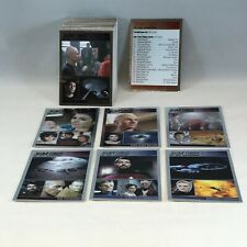 STAR TREK THE COMPLETE NEXT GENERATION 1 Complete SILVER FOIL PARALLEL Card Set