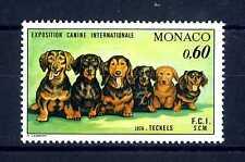 MONACO - 1976 - Esposizione canina internazionale di Montecarlo - MNH