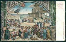 Terni Orvieto Duomo Luca Signorelli cartolina XB5439