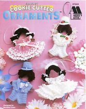 Annie's Attic Crochet Cookie Cutter Ornaments Pattern Book 879403 - 9 Designs