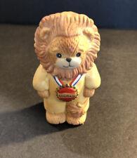 Lucy & Me Wizard Of Oz Lion Courage Bear Enesco Lucy Rigg 1989 - Rare