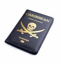 Popular Pirates of The Caribbean Passport Cover PU  FREE SHIPING Passport