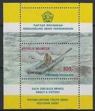 Indonesia postfris 1980 MNH  block 33 - Jeugd en Natuur