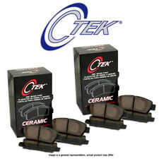 [FRONT + REAR SET] Centric C-Tek Ceramic Disc Brake Pads CT96645
