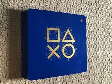 Sony PlayStation 4 Slim 1TB Days of Play Blue Limited Edition With 3 Games
