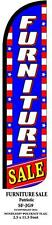 Furniture Sale Patriotic Windless Swooper Feather Banner Flag Sign