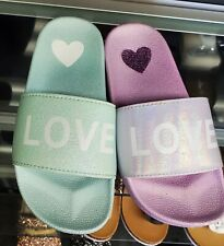 LOVE Slide Ons/ Sandals for Girls Kids