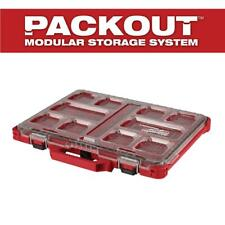 Milwaukee Packout Small Parts Organizer 11 Compartment Low Profile Slim Tool Box