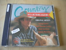 Country heartbreakersCD1990folk Jones Conley Loveless Morris Morgan Fender