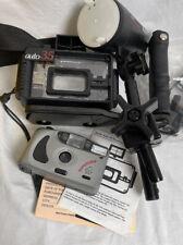 Working 35mm Underwater Camera Ikelite Strobe Auto 35 System Scuba Diving Rare