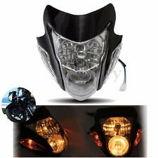 Streetfighter Street Fighter Motorcycle Fairing Head Light Lamp W/ Turn Signal