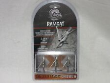 Ramcat Crossbow Broadhead 125 Grain 3 Pack R2001 1.5