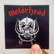 "Motorhead Motörhead 3"" x 3"" EP LP Album Cover Sticker"