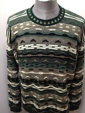 Vintage 90's Protege Collection Knit Cosby Sweater Men's Large Tall  Coogi Style