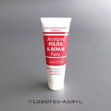 Polierpaste - Polier & Repairpaste zum Polieren von Plexiglas / Arcylglas - 75ml