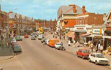 Vintage Postcard, Southbourne Grove, Bournemouth, Dorset, Classic Cars 00U