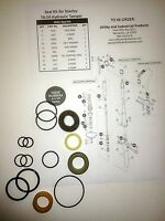 Seal Kit - Stanley TA-54 Hydraulic Tamper Seal Kit # 02032