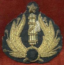 '30s-Wwii Milizia Volontaria per la Sicurezza Nazionale Officer Black Cap Badge