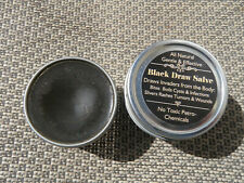 Black Draw Salve, Naturally removes infections & invaders from the body.  2 oz.