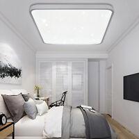 24W LED Deckenlampe Badleuchte Deckenleuchte Wohnraum Wandleuchte Sternenhimmel