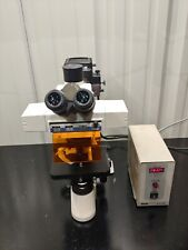 Motic Ba400 Fluorescence Microscope Trinocular Head With Hg Lamp Amp Objectives