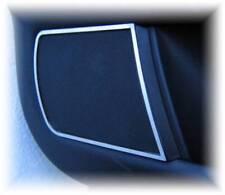 D Audi A4 B5 Chrom Rahmen für Türlautsprecher unten - Edelstahl poliert 2 Teile