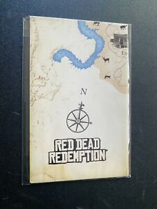 Red Dead Redemption 🔥Sony Playstation 2 PS2 POSTER MAP INSERT
