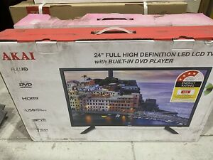 """Brand New Massive Tv Clearance Sale 24"""" 24 inch Led Full Hd Tv with DVD player"""