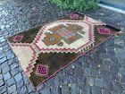 Turkish area rug, Vintage wool rug, Carpet, Handmade rug | 4,4 x 6,1 ft