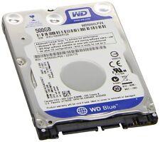 """NEW WESTERN DIGITAL 500GB 2.5"""" 5400RPM SATA HD LAPTOP PC HARD DRIVE WD5000LPVX"""
