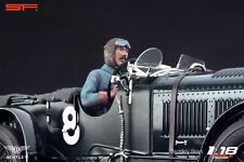 1/18 Tim Birkin racing driver Very Rare! figurine for 1:18 Bentley Minichamps