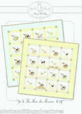 Quilt Pattern ~ THE MORE THE MERRIER ~  by Bunny Hill Designs