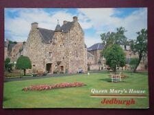 POSTCARD ROXBURGHSHIRE JEDBURGH - QUEEN MARY'S HOUSE