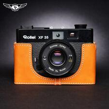 Rollei XF35 Voigtlander VF135 Leather Half Case Camera Retro Cover TP Handmade