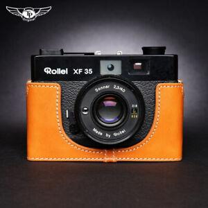 Rollei XF35 Leather Half Case  Voigtlander VF135 Camera Retro Cover TP Handmade