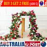 45flowers 8Ft Artificial Silk Rose Flower Hanging Garland Garden Wedding Decor A