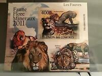 Comoro Islands 2009 Lions Panthers mint never hinged stamp sheet R24075