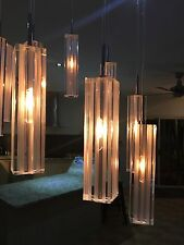 Three Pendant Crystal Chandelier Ceiling Hanging Modern Lamp halogen