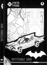 Batmam Batmobile TV Series 1966 DC Comics Big 1:18 3D Metal Model SD TOYS