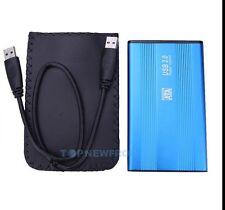 "USB 3.0 External Hard 320GB Disk Western Digital WD3200B Drive 2.5"" with Pouch"