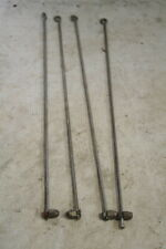 Vintage Bicycle Straight Mudguard Stays x 4 For 26 Wheel With Nuts New Old Stock