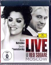 BLU-RAY Anna NETREBKO & Dmitri HVOROSTOVSKY Live from Red Square Moscow Verdi