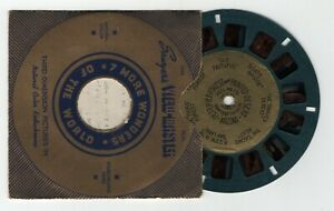 Petrified Forest and Painted Desert 1938 Gold Foil Center View-Master Reel 166
