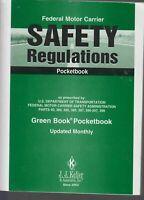 Federal Motor Carrier Safety Regulations Pocketbook by J.J. Keller. DOT - NEW
