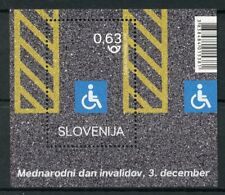 Slovenia 2018 MNH Intl Day for Disabled People 1v M/S Medical Health Stamps