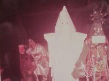 VINTAGE MID MOD QUEBEC HALLOWEEN COSTUMES EXECUTIONER TREE MAN INDIAN FUN PHOTO